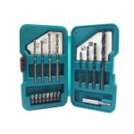Makita D-45858 17 Piece Drill and Screwdriver Magnetic Bit Holder Set
