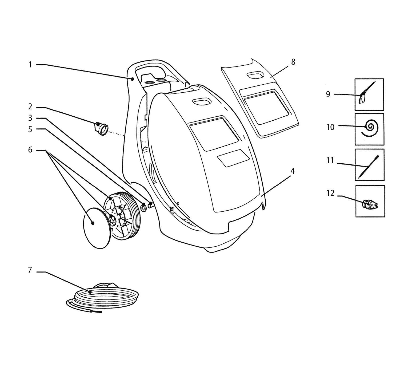 Draper 13754 Hot Water Pressure Washer Spare Parts